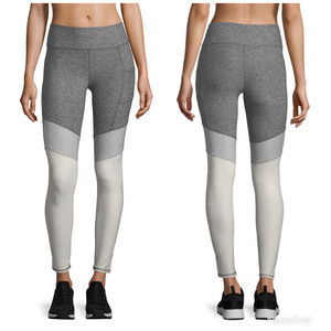 New X By Gottex Colorblock Cuffs Leggings